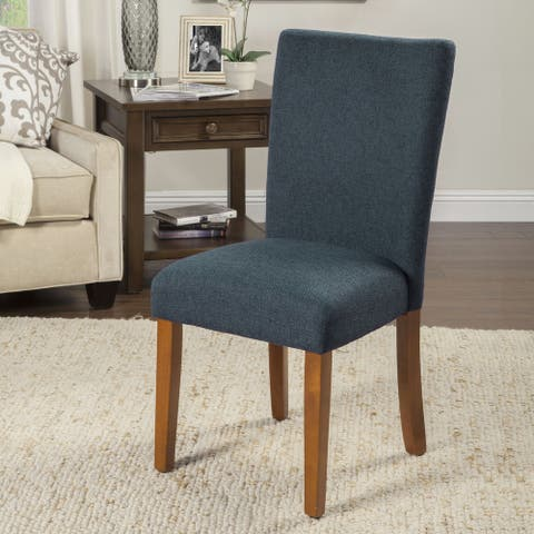 HomePop Classic Parson Dining Chair -Set of 2