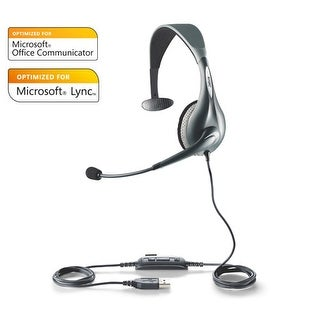 Jabra UC Voice 150 Mono Headset 1593-829-209 for Unified Communication Deployments