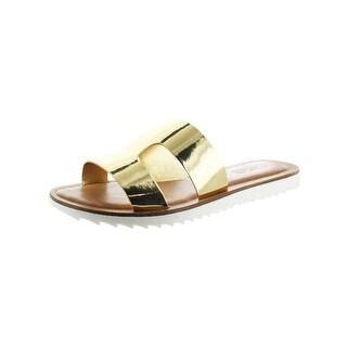 Carlos by Carlos Santana Womens Gilmore Slide Sandals Open Toe Casual