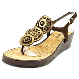 Vaneli Kalinda Women Open-Toe Suede Slingback Sandal