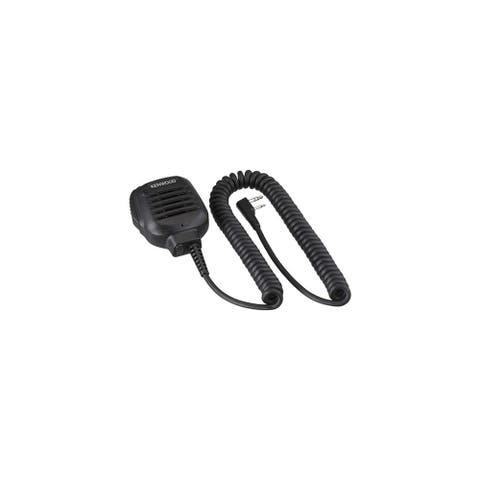 Kenwood KMC-45D Speaker mic with built-in 2.5mm earphone jack Speaker mic with built-in 2.5mm earphone jack