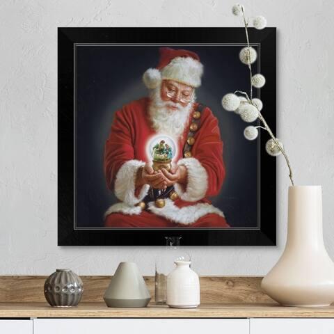"""""""The Spirit Of Christmas"""" Black Framed Print"""