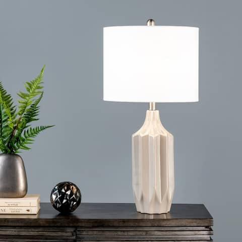 "nuLOOM Baxter 27"" Ceramic Table Lamp - 13"" W x 13"" D x 26.5"" H"