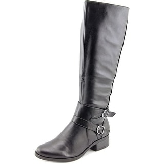 Madeline Taken For A Ride Women Round Toe Synthetic Knee High Boot