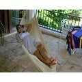 Sunnydaze Natural Colored Mayan Hammock & Hammock Stand - Thumbnail 0