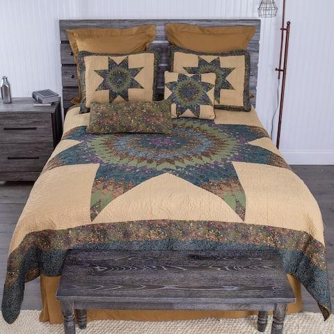 Donna Sharp Forest Star Quilt Set