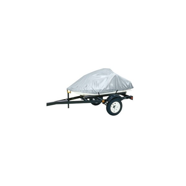 Dallas Manufacturing Co Polyester Personal Watercraft Cover A - Silver Polyester Personal Watercraft Cover A - Silver