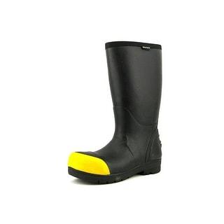 Bogs Food Pro Steel Men  Steel Toe Synthetic Black Work Boot