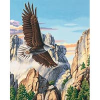 """Soaring Eagle - Paint Works Paint By Number Kit 16""""X20"""""""