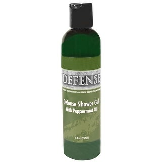 Defense Soap 8 oz. Antimicrobial Therapeutic Shower Gel - Peppermint - 8 oz.