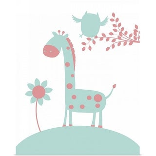 """Giraffe"" Poster Print"