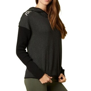 Fox 2015 Women's Fronted Long Sleeve Sweater - 14634 - Black (4 options available)