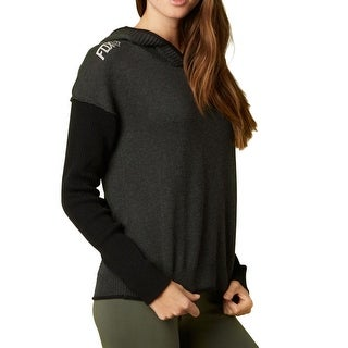 Fox 2015 Women's Fronted Long Sleeve Sweater - 14634 - Black