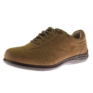 Aravon Womens Farren Leather Perforated Oxfords