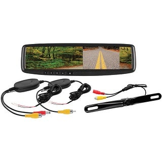 """Boss 4.3"""" Rearview Mirror Monitor back up camera"""