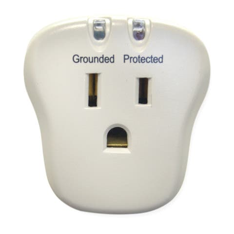 Offex Surge Protector, 1 Outlet, 540 Joules with EMI/RFI filter
