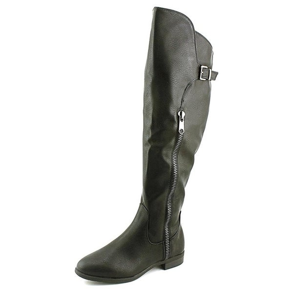 Rialto Womens FIRSTROW Closed Toe Knee High Fashion Boots