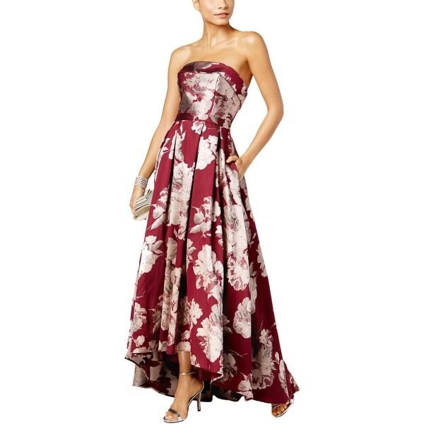 f5aaa6ed11 Shop Xscape Womens Evening Dress Brocade Strapless - Free Shipping ...