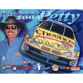 Signed Petty Richard 425x55 Promo Card autographed