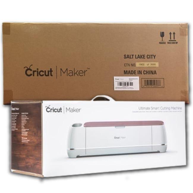 Shop Black Friday Deals On Cricut Maker Machine Bundle 4 Smooth Heattransfer Vinyl Design Projects Guide Overstock 25723794