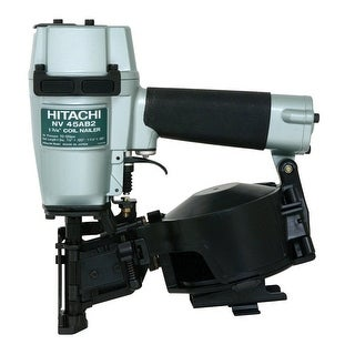 Hitachi NV45AB2 Coil Roofing Nailer, 1-3/4""