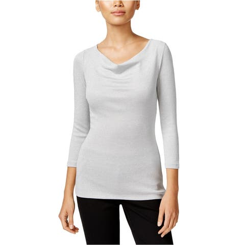 I-N-C Womens Knit Pullover Blouse