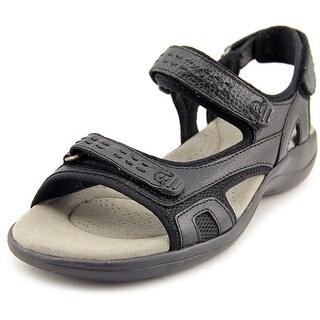 Clarks Morse Tour W Open-Toe Leather Sport Sandal
