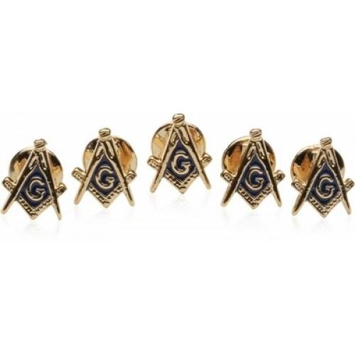 Masonic Stud Set With 5 Studs Mason