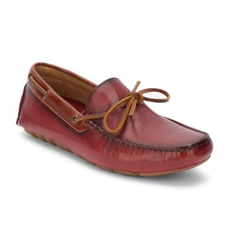 G.H. Bass & Co. Mens Wyatt Leather Casual Driver Loafer Shoe