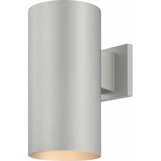 "Volume Lighting V9626 1 Light 12"" Height Outdoor Wall Sconce with Metal Shade"