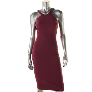 Elizabeth and James Womens Solid Sleeveless Cocktail Dress - 2