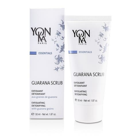 Essentials Guarana Scrub - Exfoliating, Purifying With Guarana Grains - 50Ml/1 87Oz