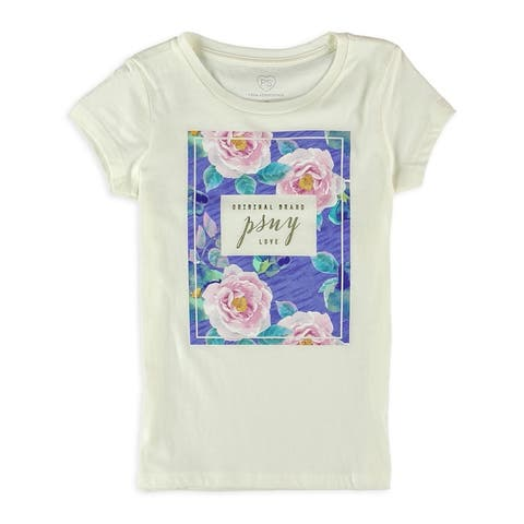 Aeropostale Girls Psny Love Graphic T-Shirt