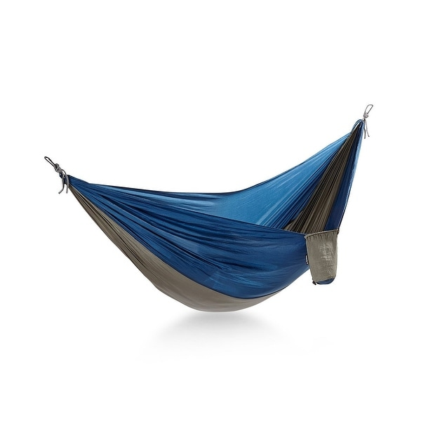 Avalanche NEW Blue Gray Portable Parachute Lightweight Nylon Hammock
