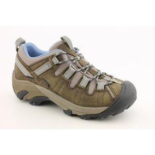 Keen Targhee II Women Round Toe Leather Brown Hiking Shoe