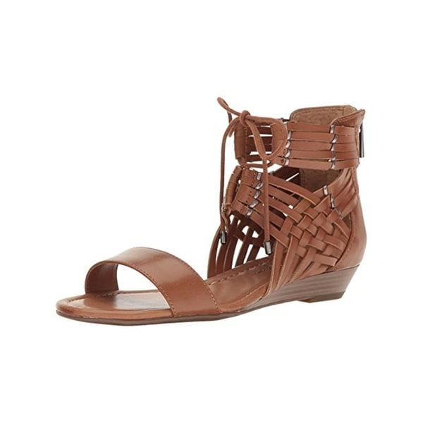 Jessica Simpson Womens Lourra Flat Sandals Open Toe Criss Cross