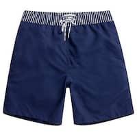 MaaMgic Blue Mens Size Small S Drawstring Trunks Shorts Swimwear