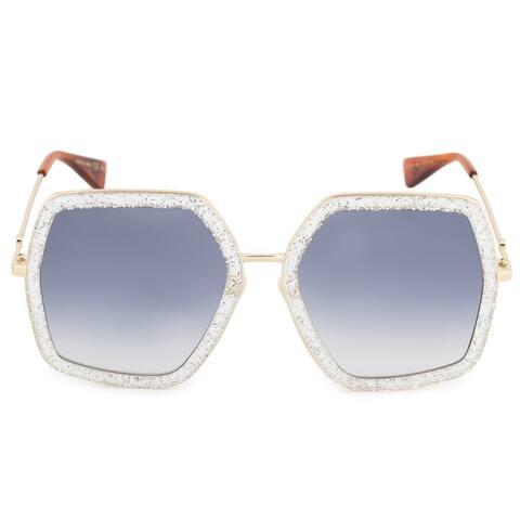 5cee2e62aa Gucci Gucci Geometric Sunglasses GG0106S 006 56