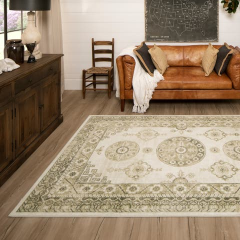Mohawk Home Ladoga Cream Area Rug