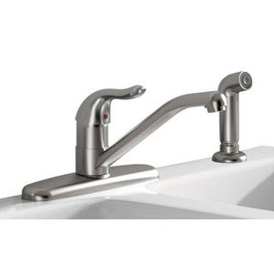 American Standard 9316001.075 Jocelyn Single Handle Kitchen Faucet With Spray