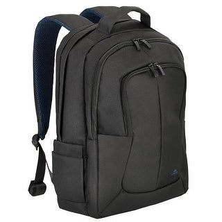 Rivacase 8460BLCK 17 in. Bulker Laptop Backpack, Black