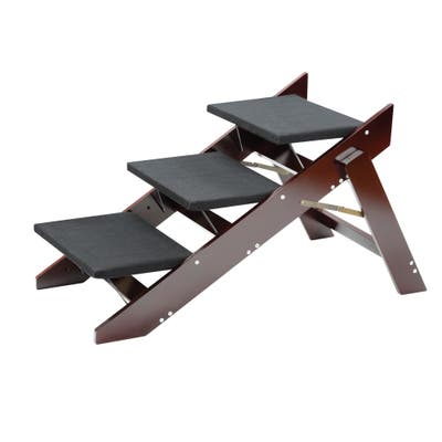 2 in 1 Wood Convertible Step and Ramp
