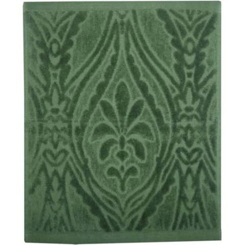 Better Homes and Gardens Paisley Bath Towels Super Soft Cotton Machine Washable - Green - N/A