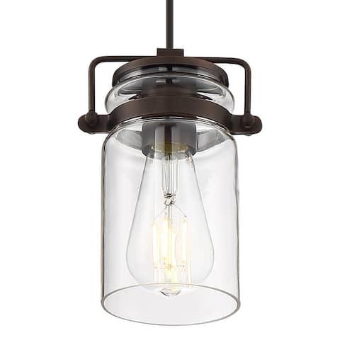 "Nuvo Lighting 60/6731 Antebellum 5"" Wide Mini Pendant"