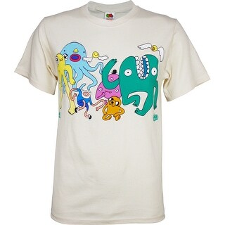 Adventure Time Dancing with Monsters Men's T-Shirt