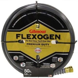 """Gilmour 874501-1001 Flexogen Lightweight Garden Hose, 5/8"""" ID x 50' L"""