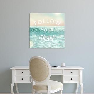 Easy Art Prints Sue Schlabach's 'Sea Inspiration I v2' Premium Canvas Art