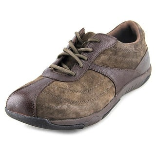 Propet Jodie Women Round Toe Suede Brown Sneakers