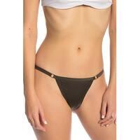 Hot As Hell Dark Green Women's Size Small S Bikini Bottom Swimwear