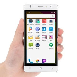 Indigi Stylish 4G LTE SmartPhone Android 6.0 MM 5.0in QuadCore 1.3GHz 1GB/8GB Unlocked - White